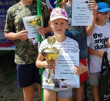 """XV otwarty konkurs wędkarski dla dzieci i młodzieży do lat 18 """"Przywitanie Lata"""""""